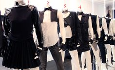 Black and white Karl Lagerfeld collection for NET-A-PORTER