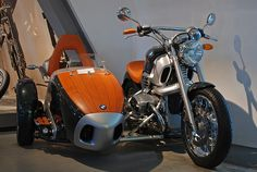 BMW with sidecar.