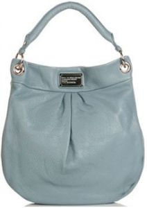 I LOVE this color of blue.-This would be a great Spring/Summer purse