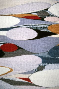 Detail of Handwoven Tapestry by Rachel Brown, 1985