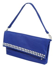 Forever21 Studded Fold Over Clutch