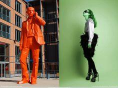 Paris giant public art Vs Green Yana Goor