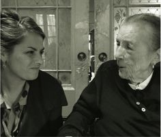 Louise Bourgeois and Tracey Emin, 2010 / Portrait by Brigitte Cornand