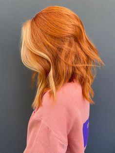 Hair Inspo, Hair Inspiration, Ginger Hair Color, Peachy Hair Color, Ginger Hair Dyed, Cheveux Oranges, Hair Dye Colors, Fall Hair Colors, Dye My Hair
