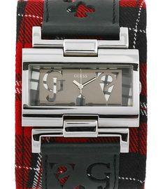 Guess W90007L3 Super trendy watch with Scottish tartan strap. Trendy Watches, Popular Watches, Scottish Tartans, Fashion Watches, Jewelry, Style, Swag, Jewlery, Jewerly