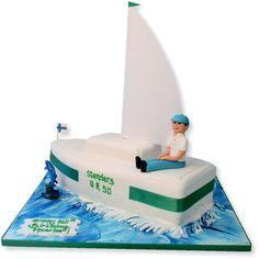 Novelty Cakes - Transport Cakes - The Cake Store Themed Birthday Cakes, Themed Cakes, Cricket Cake, Army Cake, Boat Cake, Nautical Cake, Nautical Theme, Pinterest Cake, Rhubarb Cake