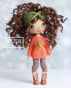 Ну вот и готова моя новая девочка;) куколка выполнена на заказ☺️люблю каждую из них❤️