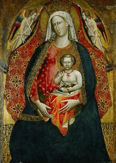 Giovanni dal Ponte, Madonna and Child with Angels, 1410s.
