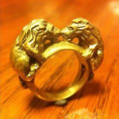 Twin+Lion+Ring+by+ruiandaguri+on+Etsy,+$150.00