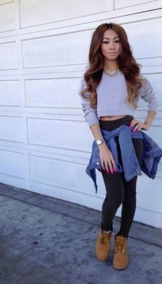 Love the timbs with this