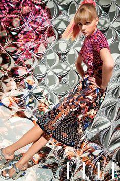 Taylor Swift in Elle March 2013 #Fashion #Editorial