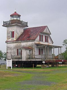 Roanoke River Lighthouse, Edenton, North Carolina by Karl Agre, M.D., via Flickr