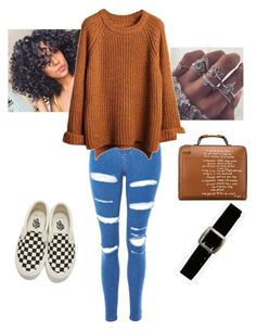 """""""Fall is here and I've never been more excited. """" by itsanaleis on Polyvore featuring Topshop, Vans, Express and Tory Burch"""
