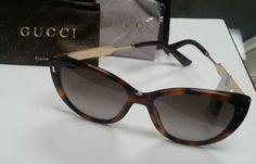 NO RESERGucci Women s GG 3804 S 3804S CRX HA Havana Gold Cat Eye Sunglasses 90d2d5a19c