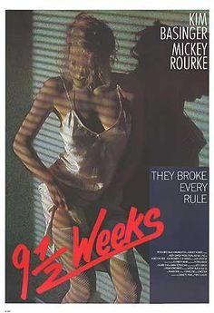 9 1/2 WEEKS (1986) Movie Poster