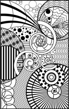 Relax With These 168 Free, Printable Coloring Pages for Adults: Crayola's Adult Coloring Pages