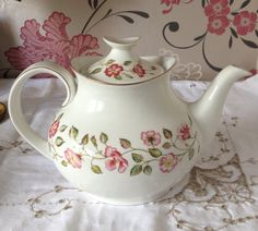Vintage Royal Doulton Large Teapot in by florenceforeverfinds