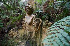The William Ricketts Sanctuary - Mount Dandenong, Victoria, Australia.