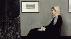 "Whistler's Mother James Abbott McNeill Whistler's 1871 painting ""Arrangement in Grey and Black No. 1,"" better known as ""Portrait of the Artist's Mother,"""