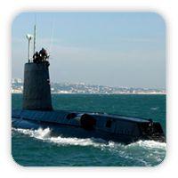 Câmara Municipal de Almada - Submarino Barracuda em Cacilhas