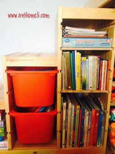 Παιδί και διάβασμα μια όμορφη συνήθεια! Bookcase, Shelves, Blog, Kids, Home Decor, Young Children, Shelving, Boys, Decoration Home