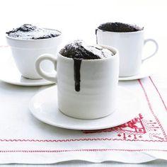 Molten Chocolate Puddings