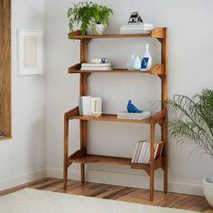 Lars Mid-Century Bookshelf - Wide