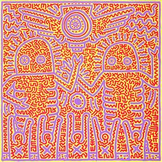 Classic Stylish Work of Keith Haring