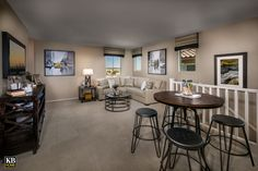 New Homes in Surprise, AZ - Villas at Sycamore Farms Plan 1932 Loft Kid Spaces, Small Spaces, Living Spaces, Sycamore Farms, 32 Cool, Farm Plans, Hangout Room, Kb Homes, Arizona