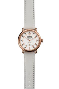 Time for a Clean Slate  - Shinola watch
