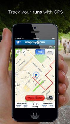 Map My Run - GPS Running, Jog, Walk, Workout Tracking and Calorie Counter