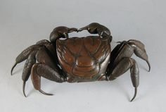 Articulated Bronze Crab