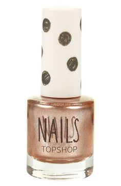 Topshop 'Metallic' Nail Polish Suffuse