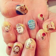 nice 17 Of Your Favourite Disney Characters As Nail Art | The Nail Room...