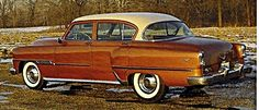 1954 Desoto FireDome Sedan..Re-pin brought to you by agents of #Carinsurance at #HouseofInsurance in Eugene, Oregon
