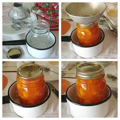 The Country Farm Home: Making Amish Peach Jam {and a very smart canning tip!}