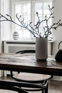 Shiny concrete floors and white walls | Copenhagen home