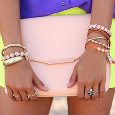 Nice things: A colorful clutch for spring!
