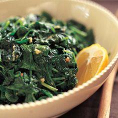 Garlic Sautéed Spinach - Barefoot Contessa