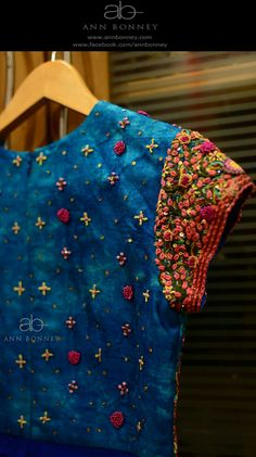 French Knot embroidery love! total lust-item! More