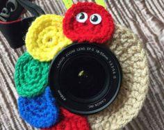INSTANT DOWNLOAD Butterfly Camera Buddy PATTERN by 4HankinsCrochet