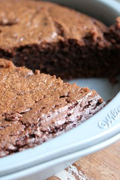 Chocolate Almond Butter Brownies | THM: S - Northern Nester