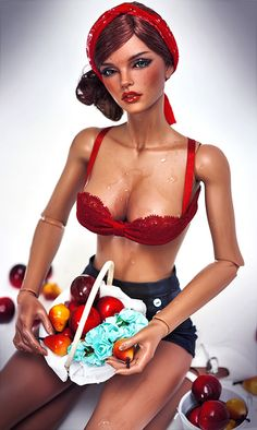Pin-Up Doll by Amadiz Studio