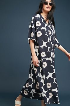 Slide View: 3: Poppy Caftan Dress