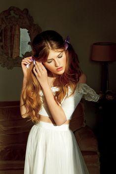 """Vive la Coquetterie"" Molly Smith for Vogue Japan Wedding 2015"