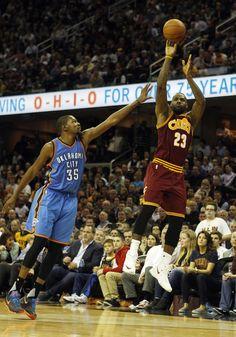 LeBron James Photos - Oklahoma City Thunder v Cleveland Cavaliers - Zimbio