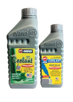 Protects Water pump against impurities and prevents rust and corrosion with AIPL ABRO tropical formula #engine #coolant dark green.