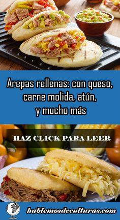 Venezuelan Food, Tasty, Yummy Food, Falafel, Sandwich Recipes, Empanadas, Hummus, Sandwiches, Recipies