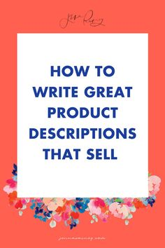 How to write great product descriptons that sell and how to do etsy keyword research. Did you know that there is a whole lot of strategy involved in writing descriptions for your products or services so that it reaches more eyes?And it applies to a wide range of e-commerce platforms including Etsy, Shopify, Square Space, Creative Market…anywhere you list your products (or services in some cases!). #etsy #seo Legal Business, Small Business Marketing, Business Entrepreneur, Online Business, Seo Marketing, Business Articles, Business Tips, Creating A Business Plan, Selling Art Online