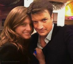 nathan fillion stana katic castle beckett